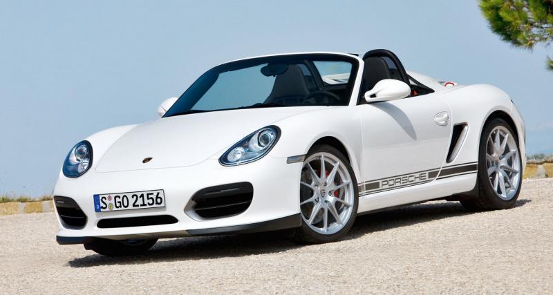 Porsche Boxster Spyder : va y'avoir du sport !