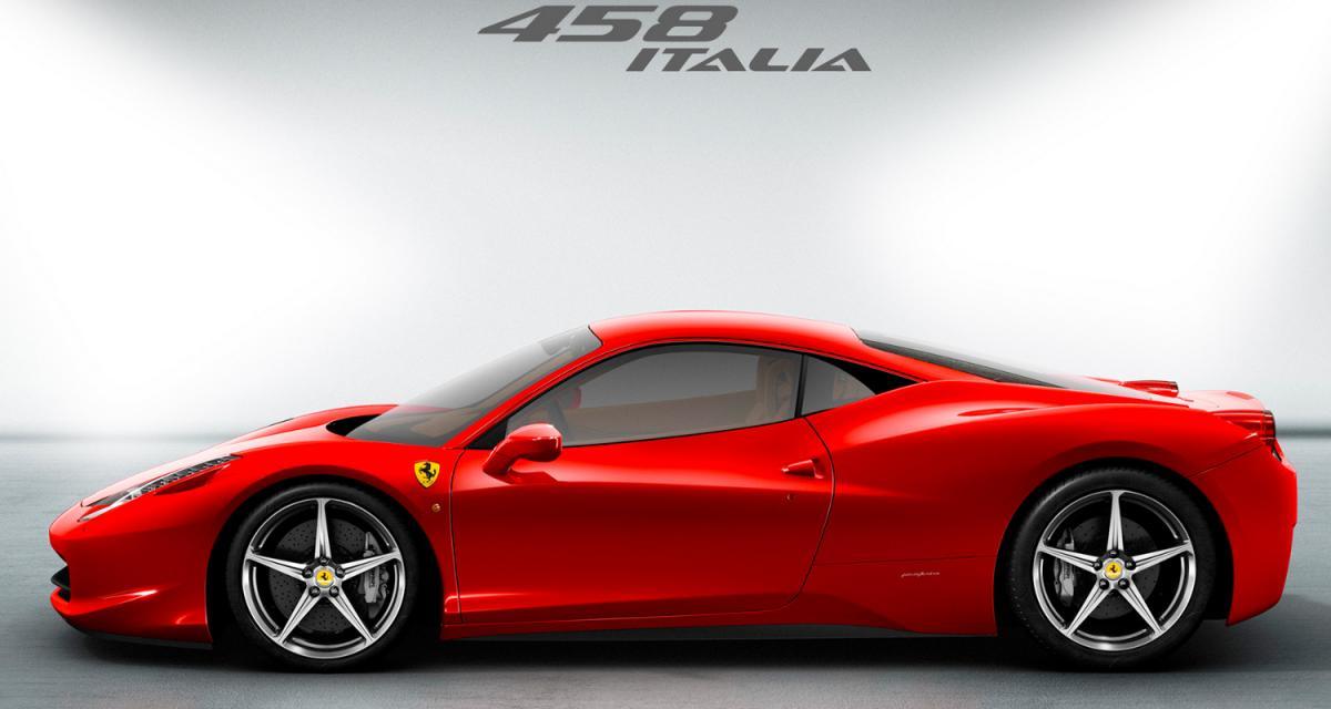 Ferrari 458 Italia : l'histoire en marche