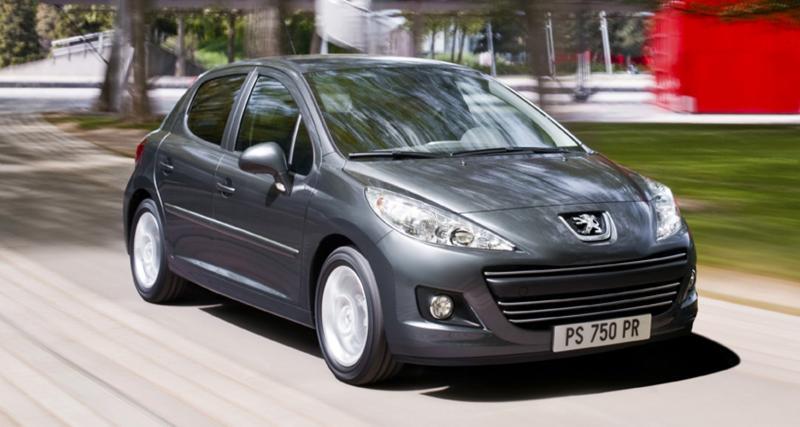 Peugeot 207 restylée : plus verte