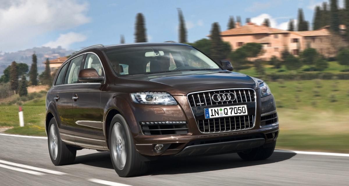 Audi Q7 restylé : pour le principe