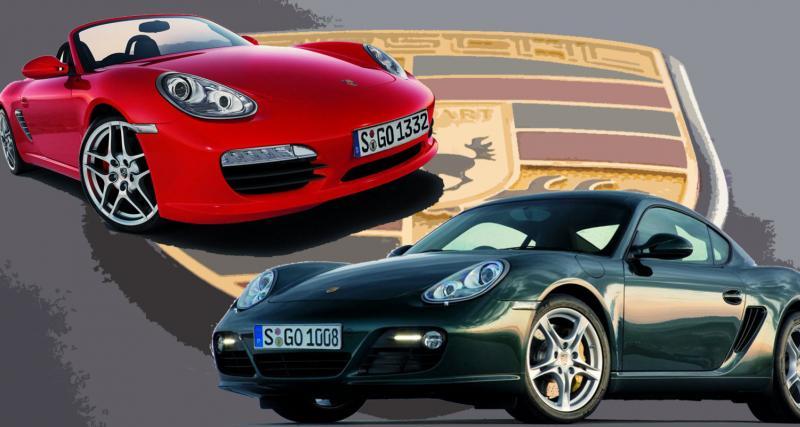 Nouveaux Porsche Boxster et Cayman : esprit de famille