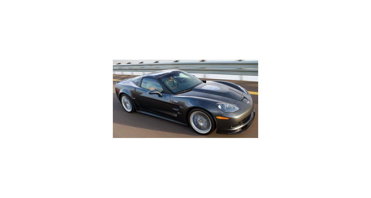 Salon de Detroit 2008 : Corvette ZR1