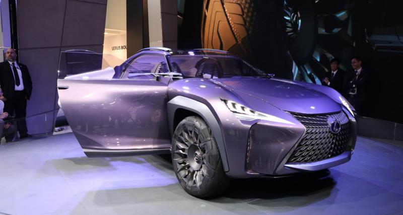 Mondial de l'Auto 2016 : Lexus UX Concept