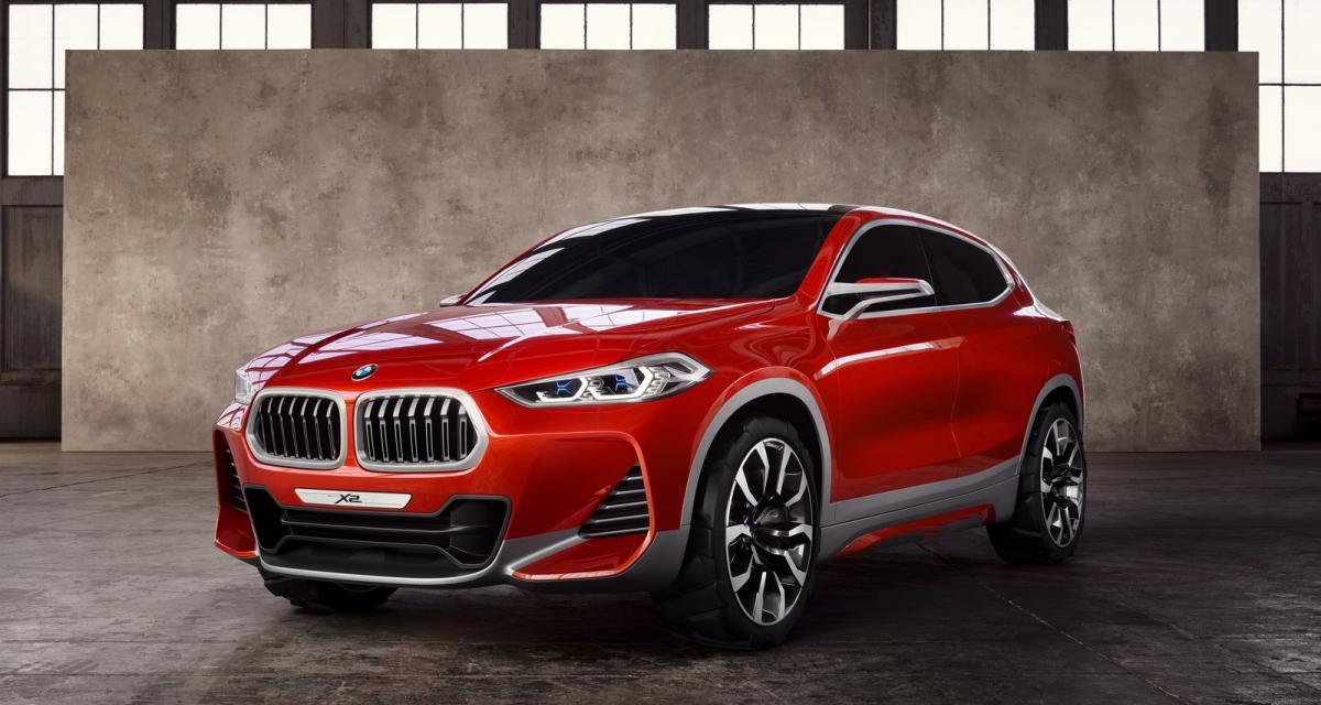 Mondial de l'Auto 2016 : BMW X2