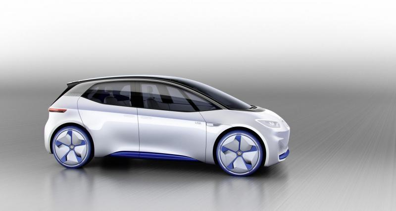 Mondial de l'Auto 2016 : Volkswagen I.D.