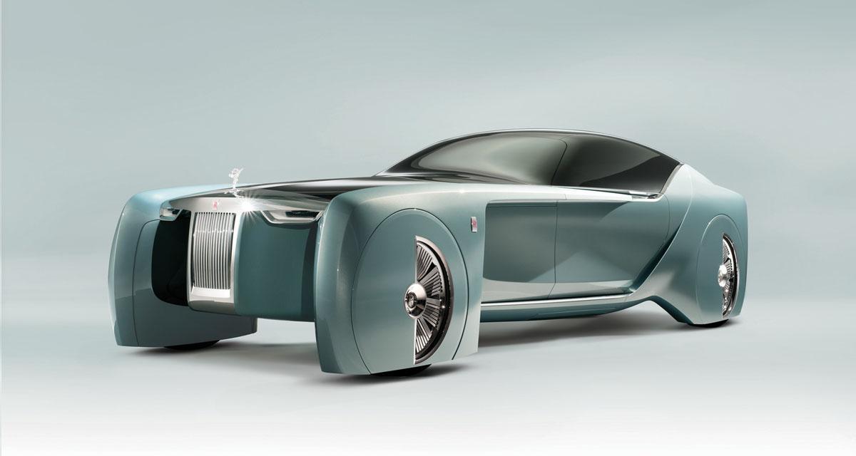 Rolls-Royce 103EX Concept : une Rolls de science-fiction