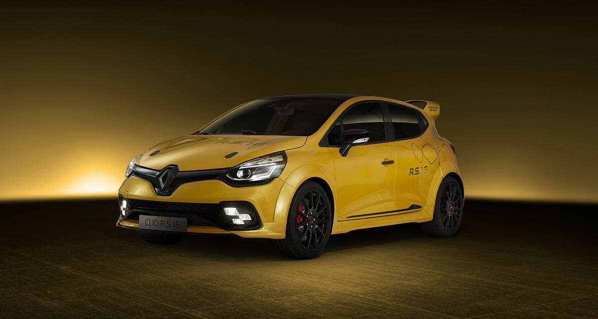 Renault Clio R.S. 16 : la Clio qui a mangé de la Mégane R.S.