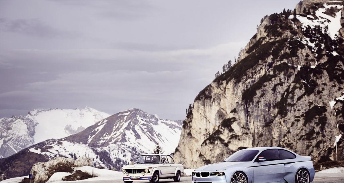 BMW 2002 Hommage : retour vers le futur