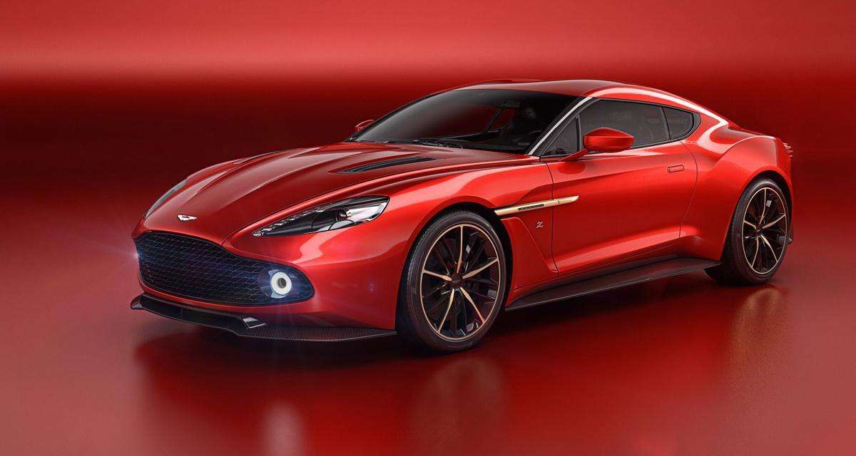 Aston Martin Vanquish Zagato Concept : bouquet final
