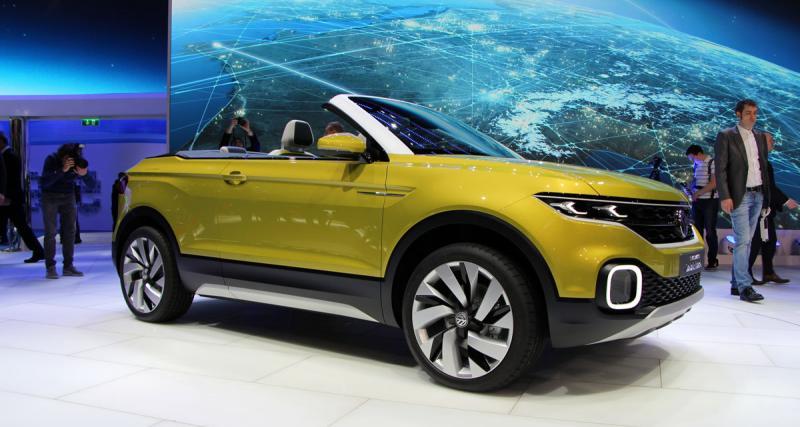 Salon de Genève en direct : toutes les photos du Volkswagen T-Cross Breeze