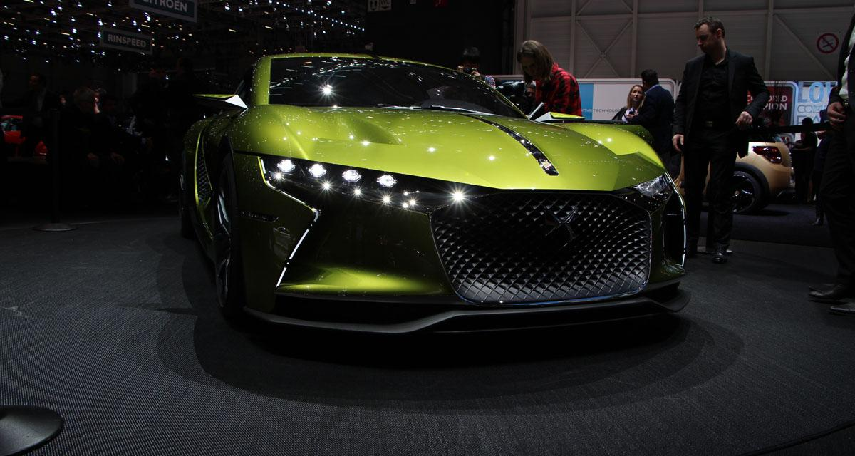 Salon de Genève 2016 en direct : DS E-Tense