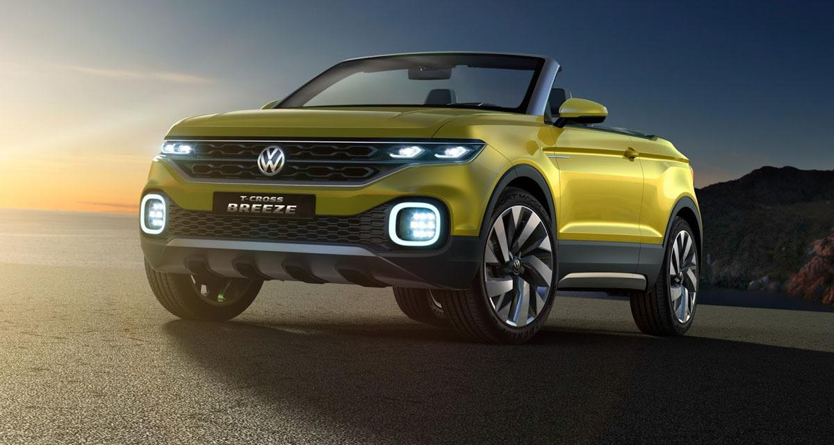 Salon de Genève en direct : Volkswagen T-Cross Breeze Concept