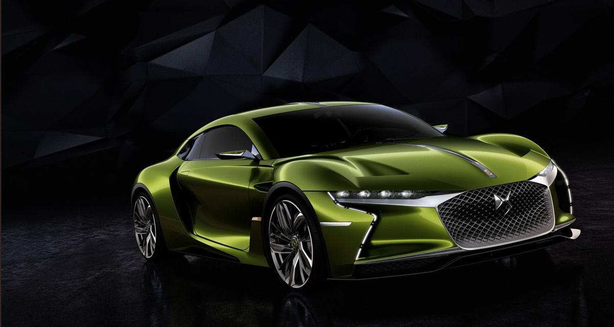 DS E-Tense : un concept de GT électrique à Genève