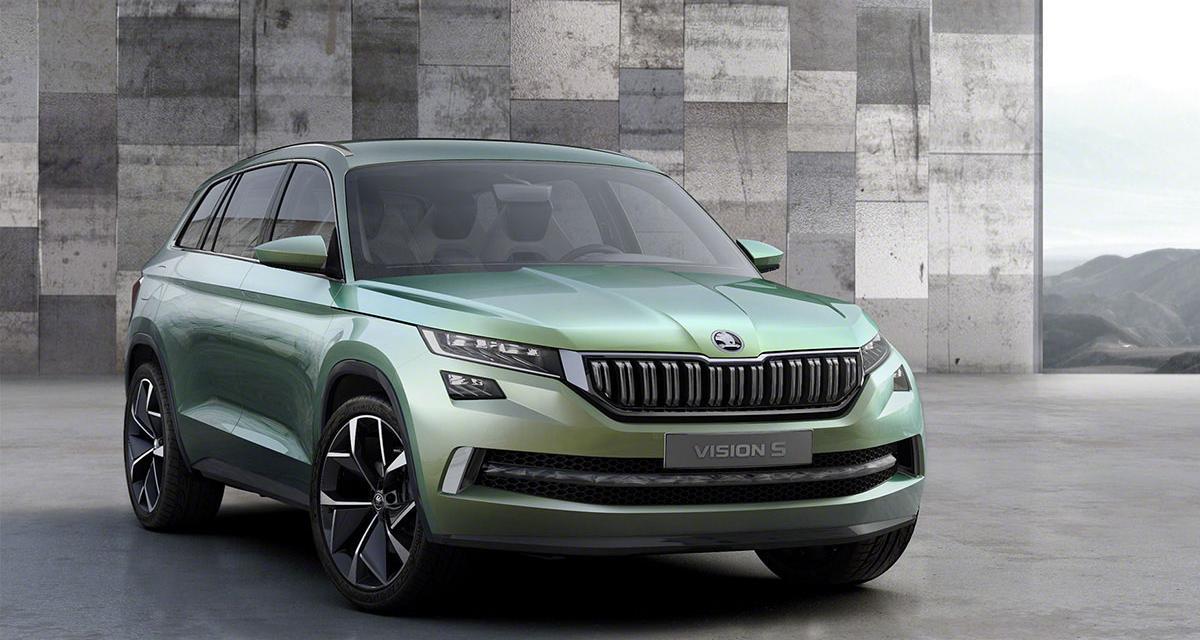 Skoda VisionS : le SUV Skoda s'annonce à Genève