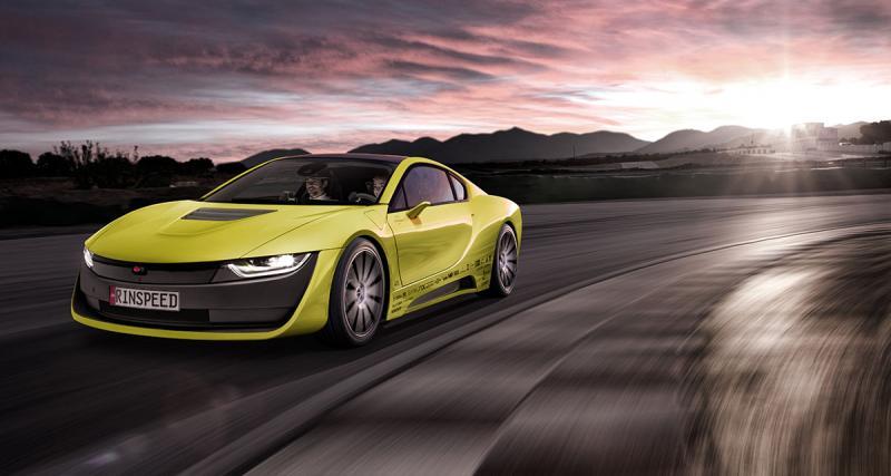 Rinspeed Etos : la BMW i8 version autonome