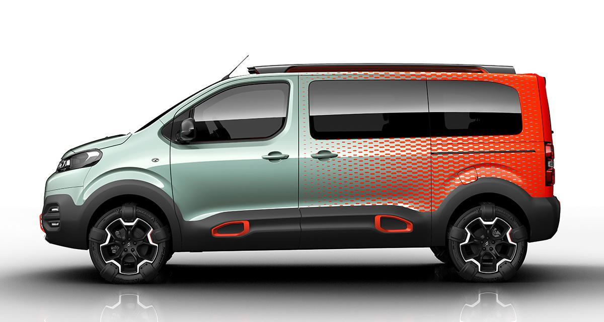 Citroën Spacetourer Hyphen concept : utilitaire pop