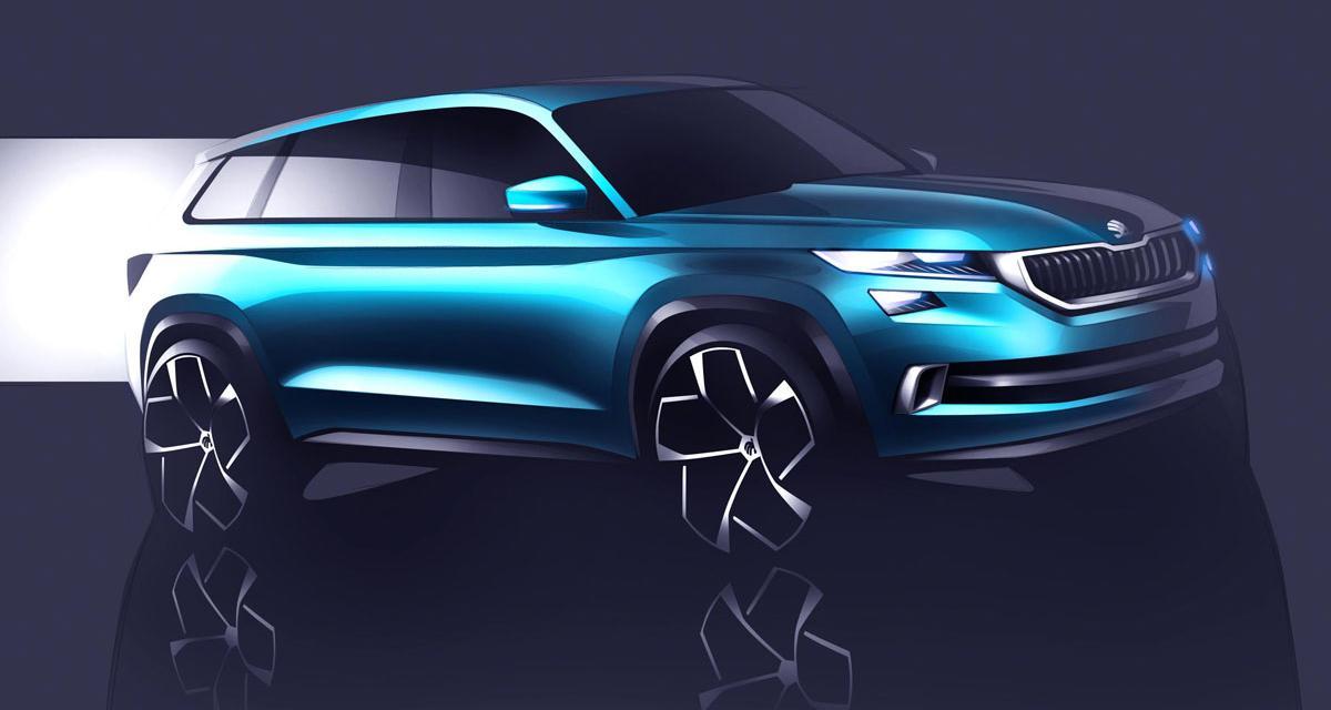 Skoda Vision S : un avant-goût du futur SUV