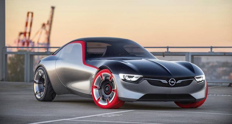 Opel GT concept : du sport en perspective