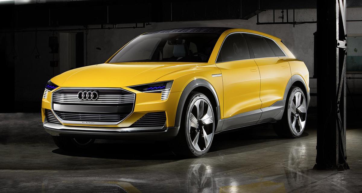 Audi h-tron quattro concept : l'hydrogène en force