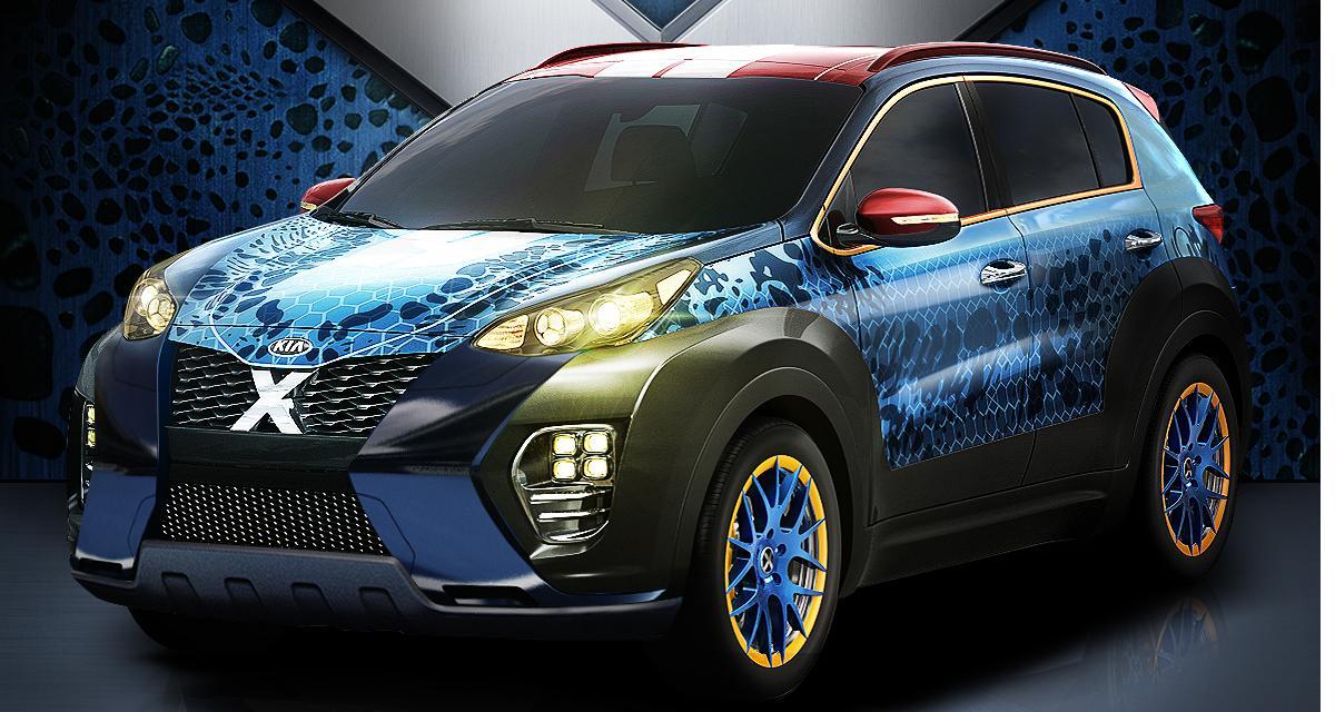 Le Kia Sportage se déguise en X-Men