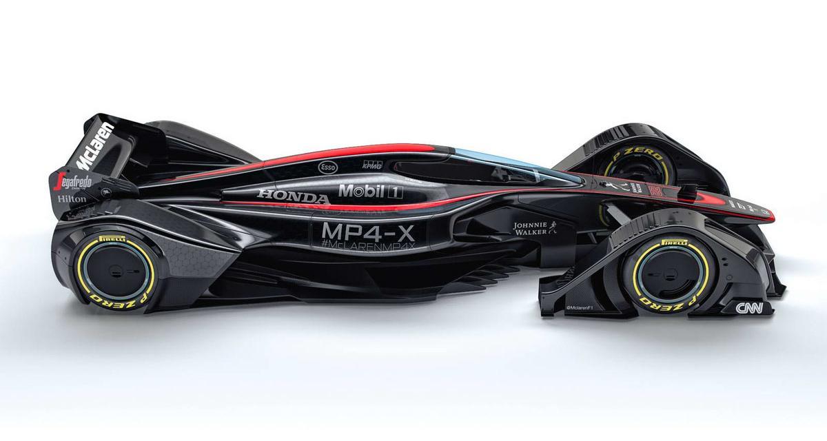 McLaren MP4-X : la F1 du futur selon Woking