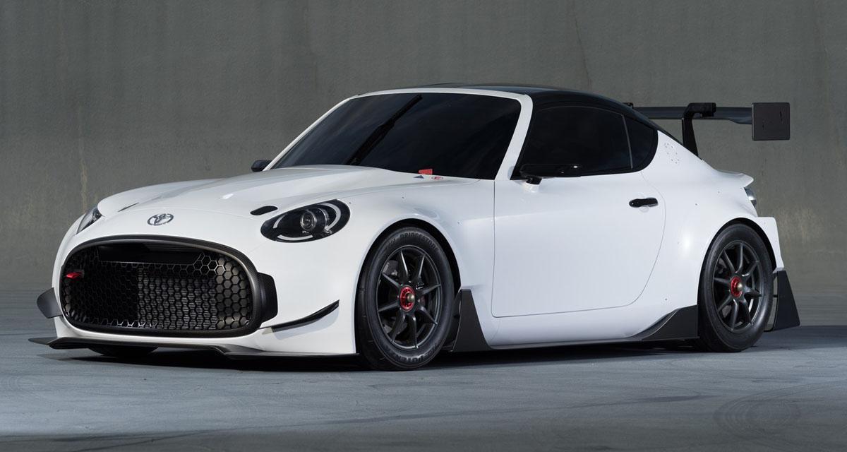 Toyota S-FR Racing Concept : pistarde de poche