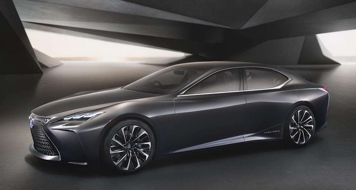 Lexus LF-FC concept : une limousine coupé à hydrogène