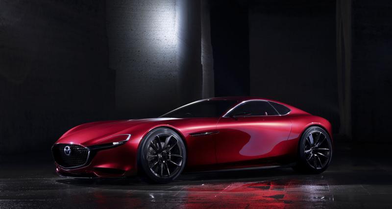 Mazda RX-Vision : le rotatif est de retour