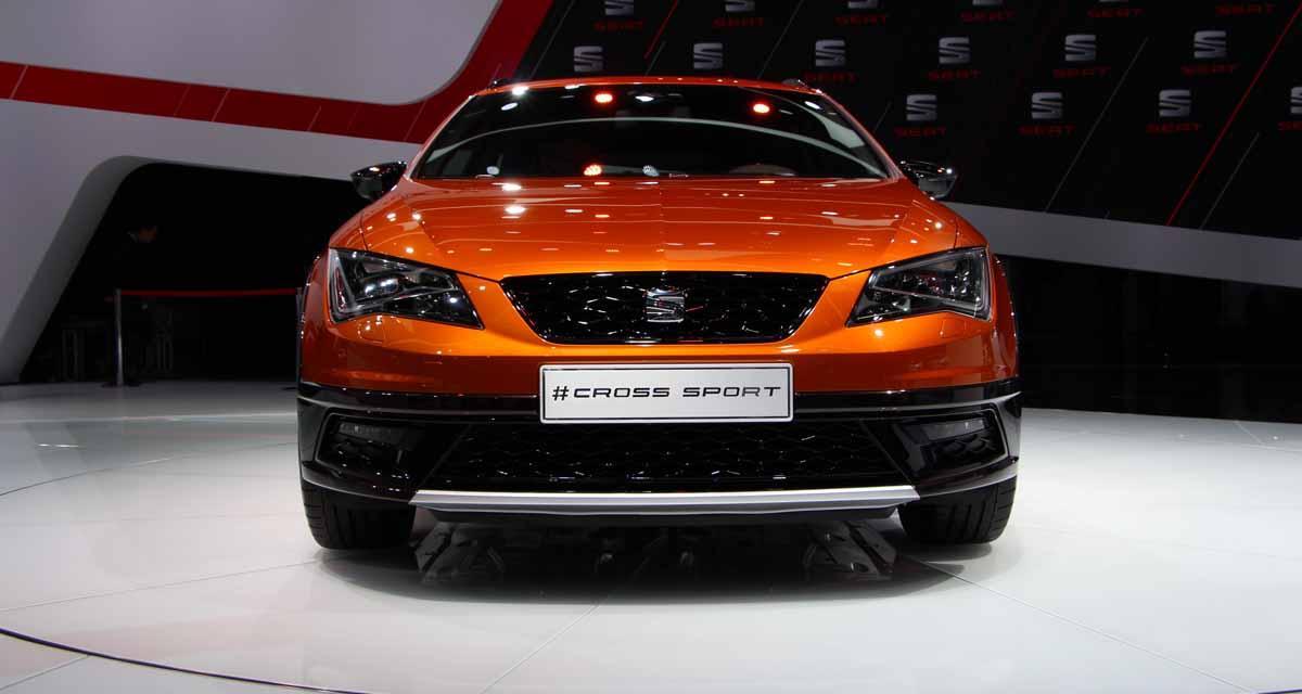 Salon de Francfort en direct : Seat Leon Cross Sport Concept