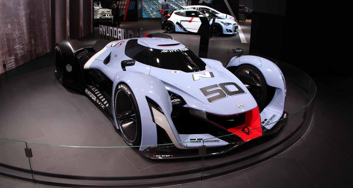 Salon de Francfort en direct : Hyundai N 2025 Vision GT