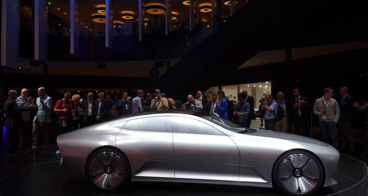 Salon de Francfort en direct : Mercedes IAA Concept