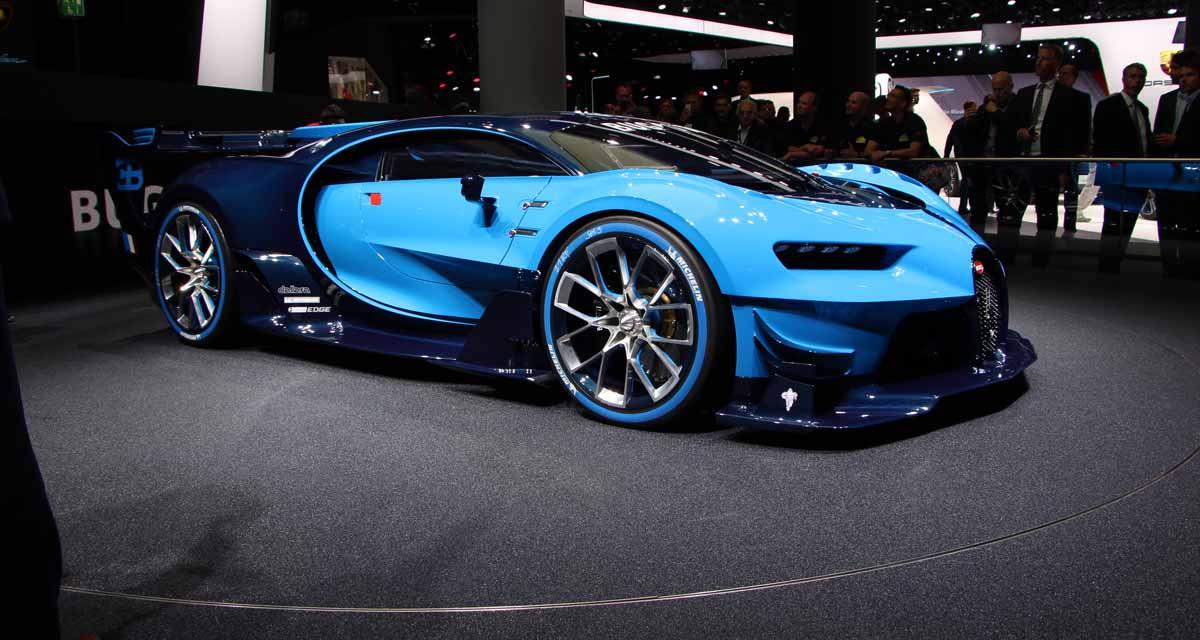 Salon de Francfort en direct : Bugatti Vision Gran Turismo