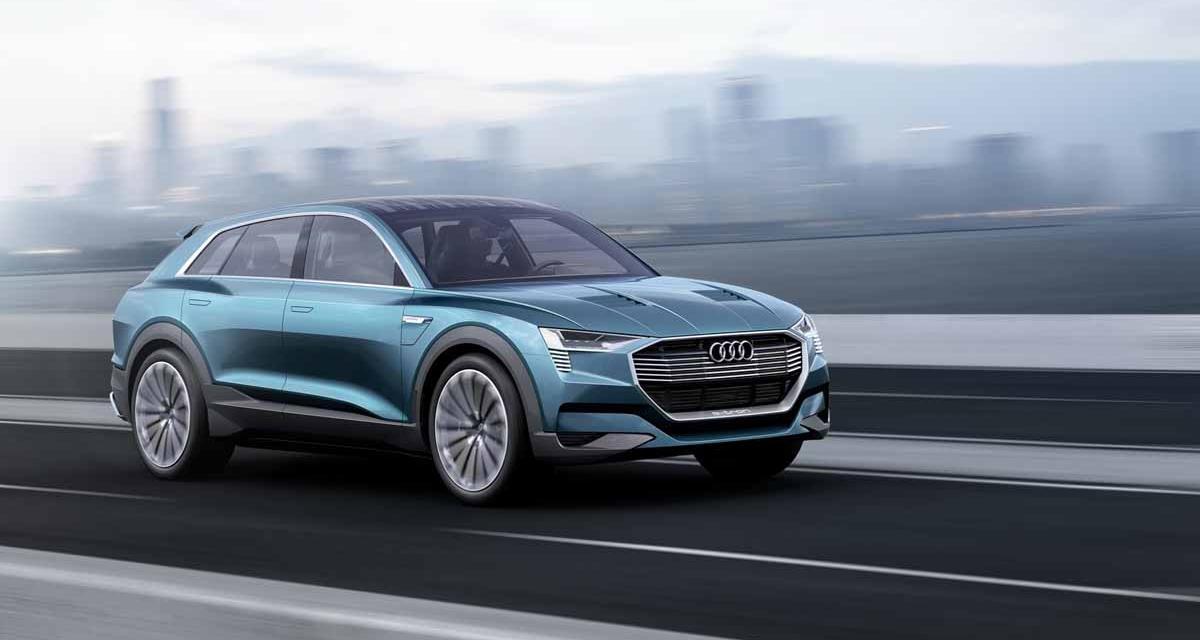 Salon de Francfort en direct : Audi e-tron quattro concept