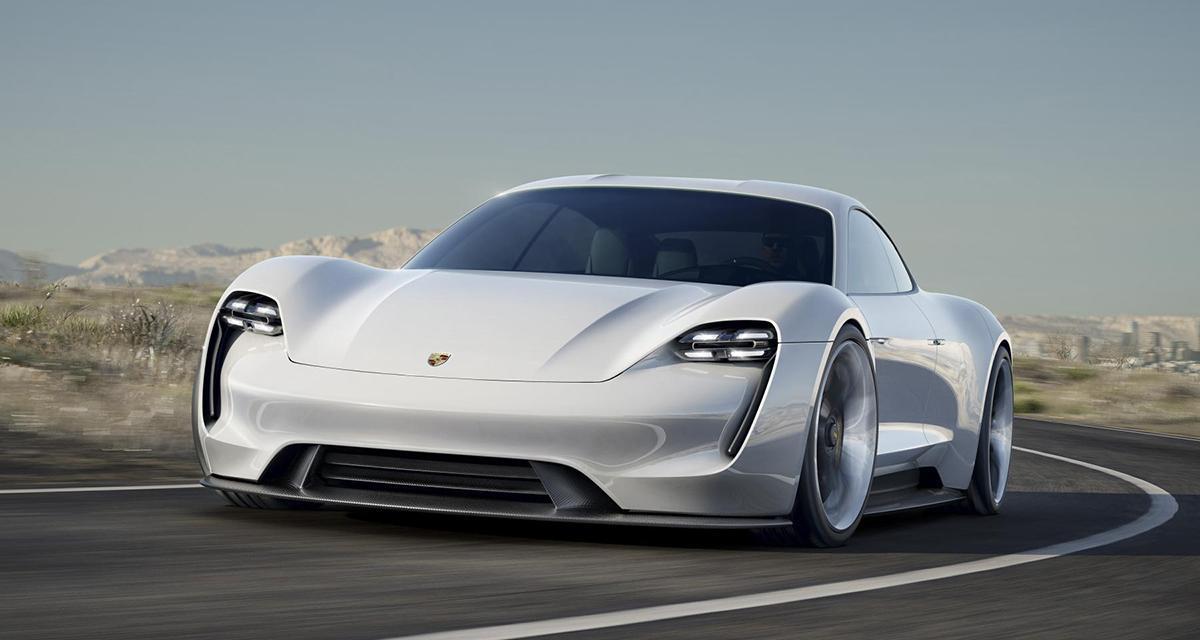 Porsche Mission E concept : une future Panamera électrique à Francfort (+ vidéo)