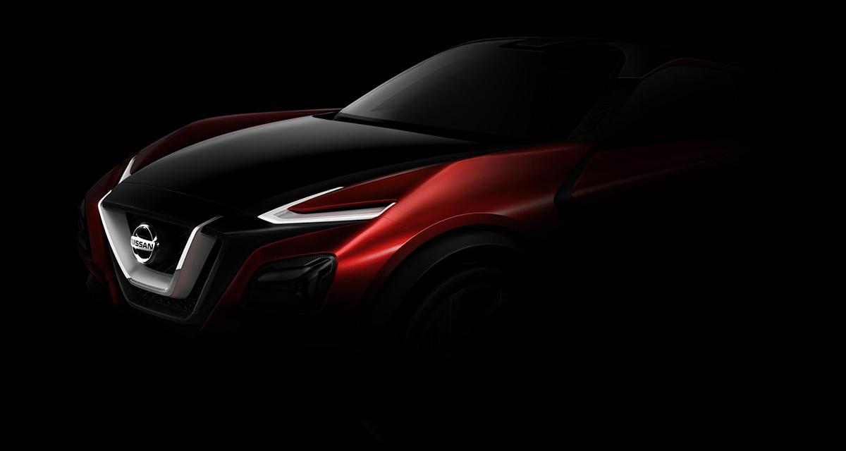 Nissan : un concept de crossover sportif à Francfort