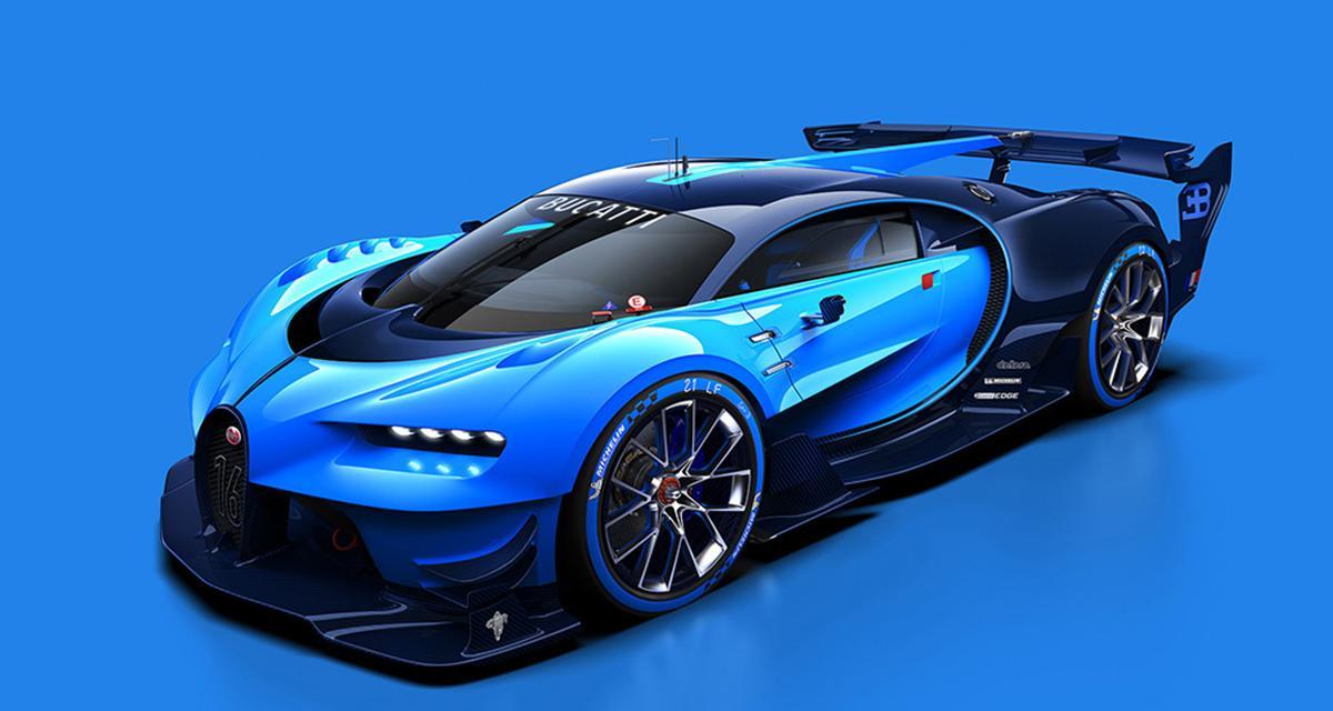 Bugatti Vision Gran Turismo : la future Chiron se prépare