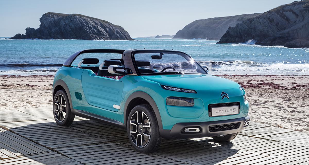Citroën Cactus M concept : la Méhari des temps modernes