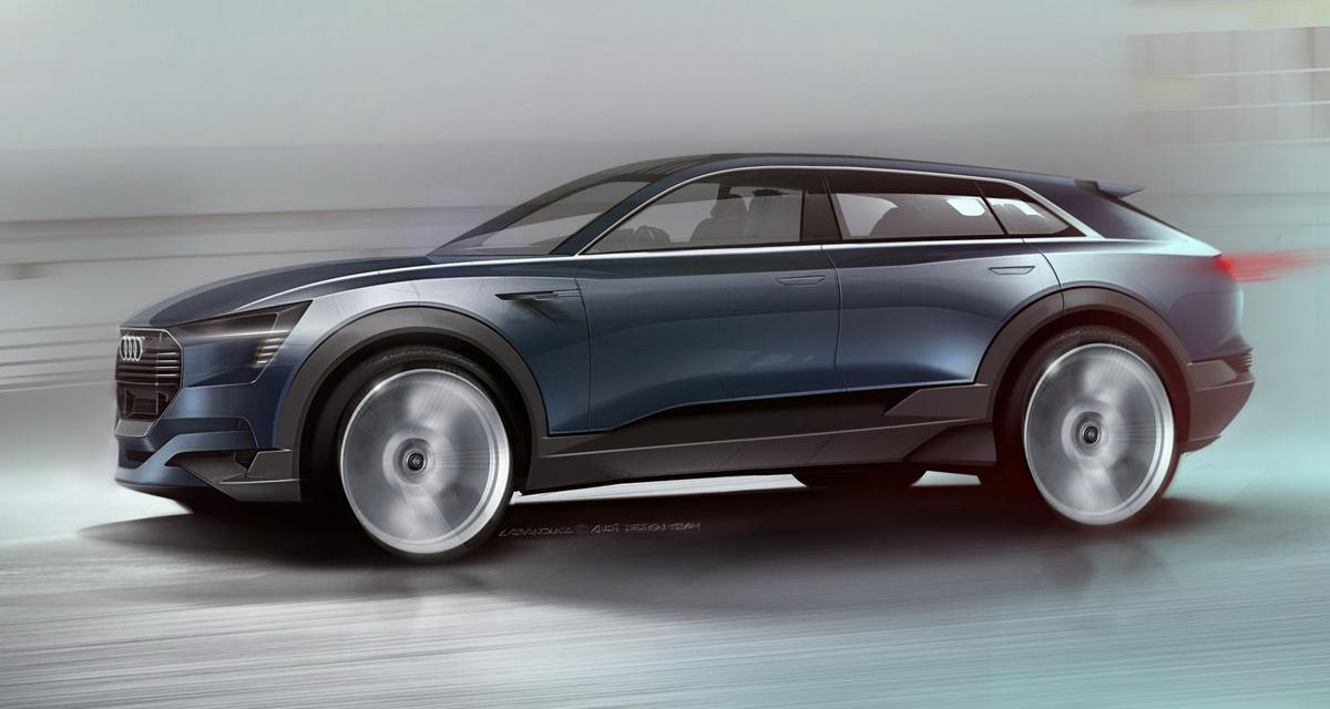 Audi E-Tron Quattro Concept : le Q6 en approche