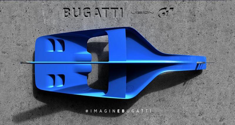 Bugatti : avant la Chiron, un concept pour Gran Turismo
