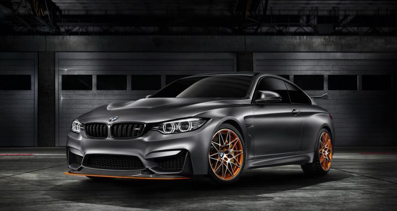 BMW M4 GTS Concept : l'eau et le feu