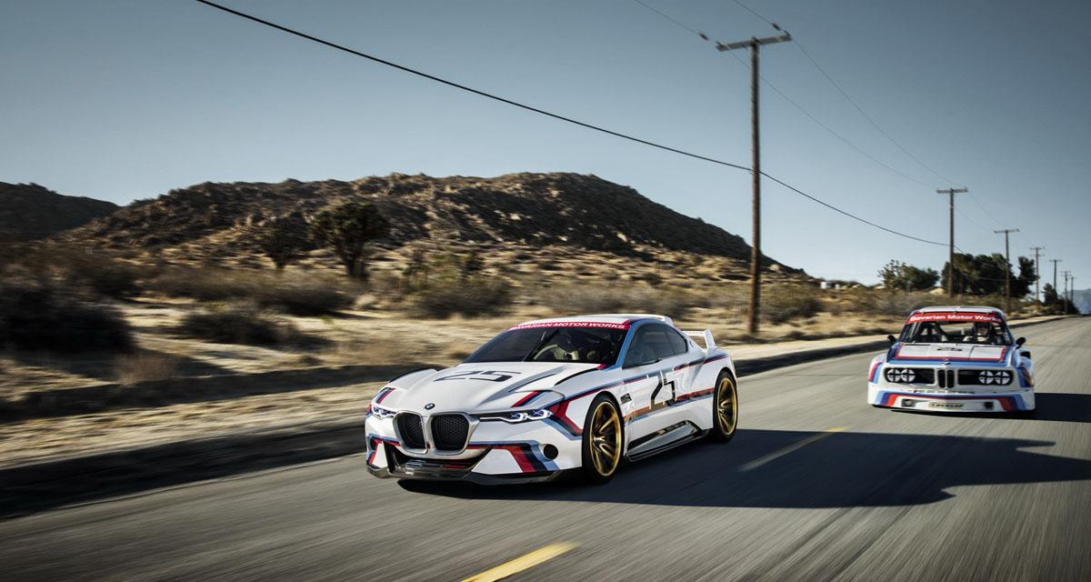 BMW 3.0 CSL Hommage R : la Batmobile ressuscitée à Pebble Beach