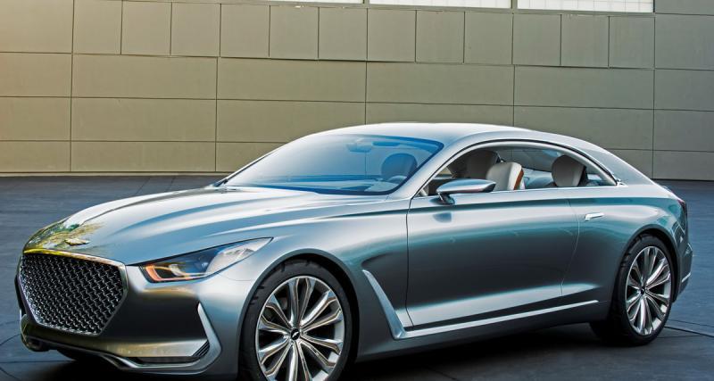Hyundai Vision G Coupé : la force tranquille du luxe à la coréenne