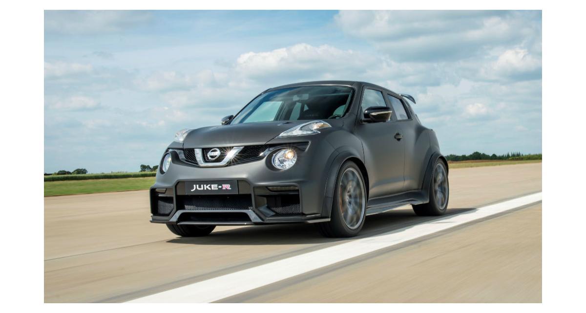 Nissan Juke-R 2.0 : 600 ch dans un Juke !