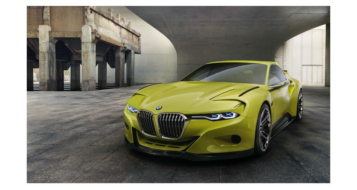 BMW 3.0 CSL Hommage: Un nouveau concept à la Villa d'Este