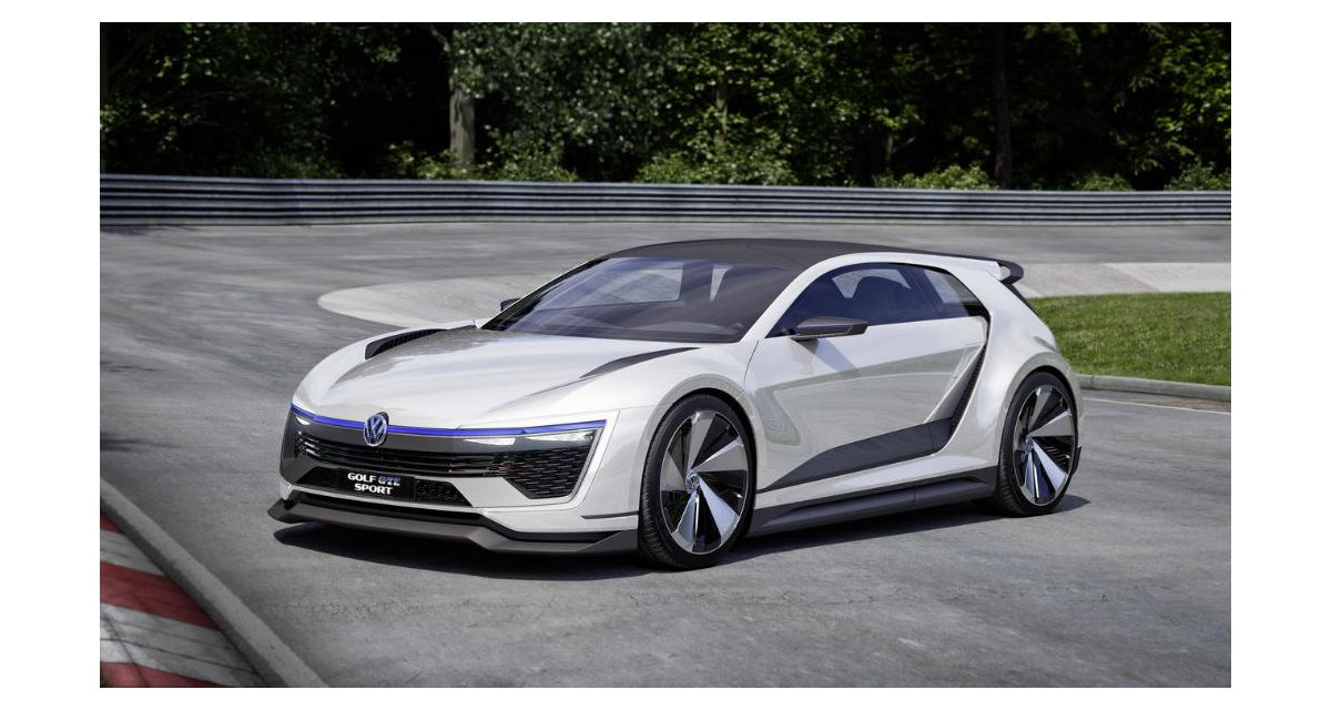 Volkswagen Golf GTE Sport Concept: un avant-goût du futur Scirocco?