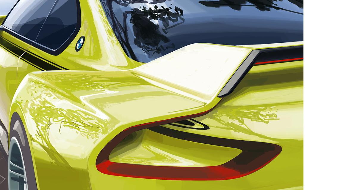 BMW : un concept hommage à la 3.0 CSL pour la Villa d'Este