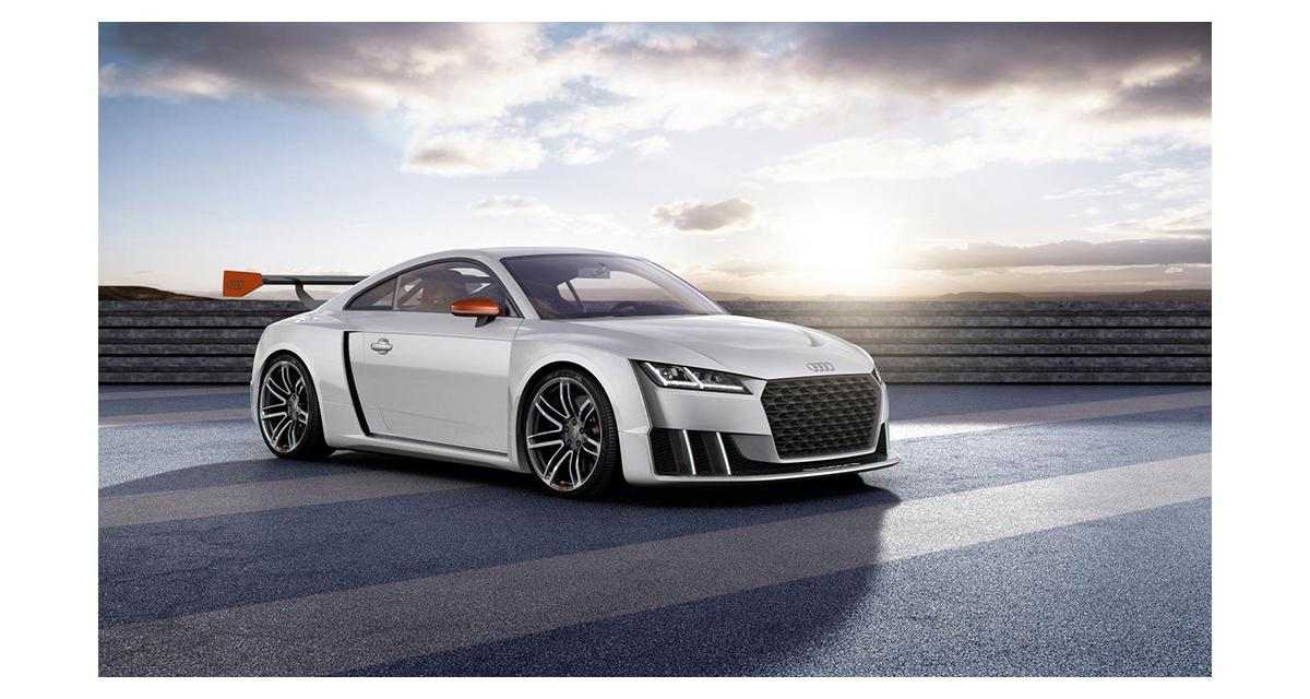 Audi TT Clubsport Turbo concept : montée en grade
