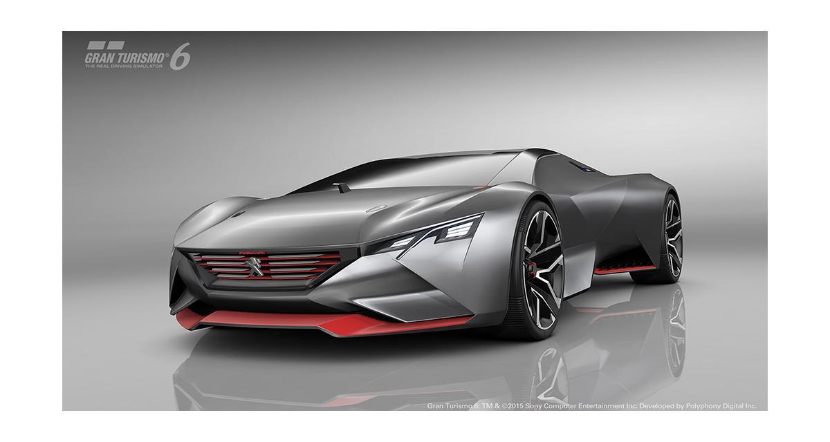 Peugeot Vision Gran Turismo : supercar virtuelle
