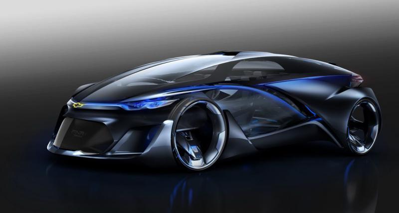 Chevrolet FNR Concept : bienvenue dans le futur