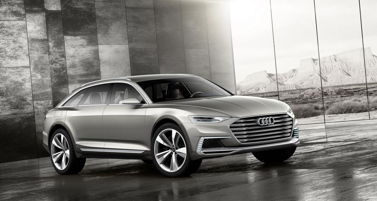 Audi Prologue Allroad : variation chinoise